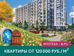«Резиденции Сколково» Ипотека – 6,7%